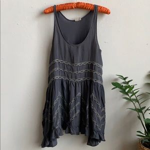 🦋 Intimately Free People Voile Trapeze Slip Dress